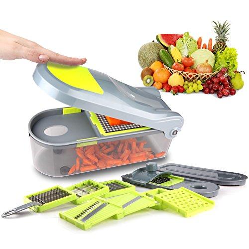 Mandoline-Trancheuse-10-en-1-Multifonction-Couteau-de-Cuisine-Lgumes-Slicer-Coupe-lgume-Professionnelle-pour-Fruit-Coupe-Rapidement-et-Facile–Nettoyer-de-Kilokelvin-0