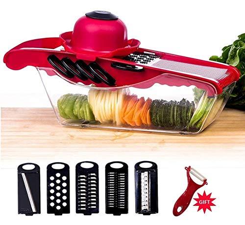 Achat mandoline de cuisine professionnelle multifonction coupe l gume - Coupe legumes multifonction ...